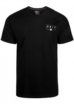 UNIT - SUPPORT TEE BLACK