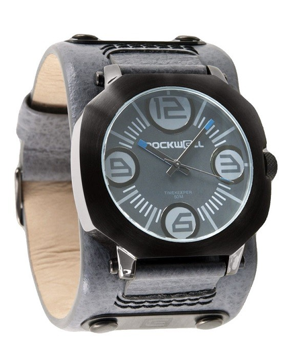 ROCKWELL - ASSASIN GREY LEATHERL/GUNMETAL