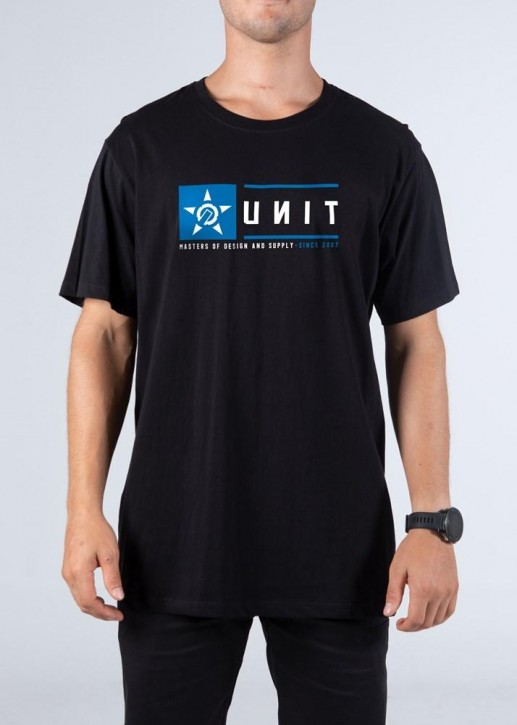 UNIT - STEADY TEE BLACK