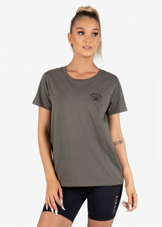 UNIT - FORTE LADIES TEE MILITARY