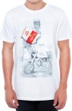 UNIT - ZED 50 TEE WHITE/RED