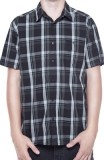 UNIT - CHECK POINT SHIRT BLACK M