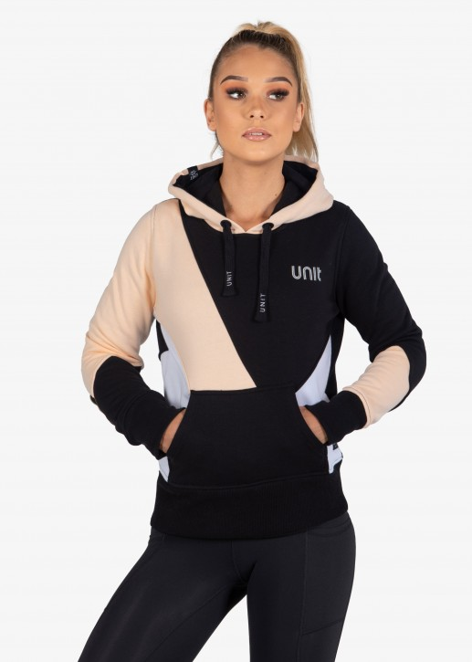 UNIT - CANDID LADIES FLEECE HOODIE PEACH