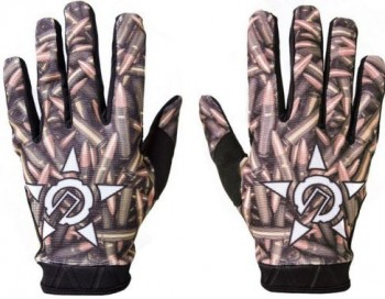 UNIT - RIDING GLOVES PEACE BRASS M