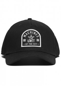 UNIT - COLLECTIVE CAP BLACK ONE SIZE