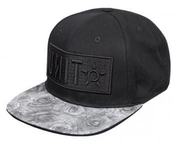 UNIT - LADIES CAP SCARLET BLACK