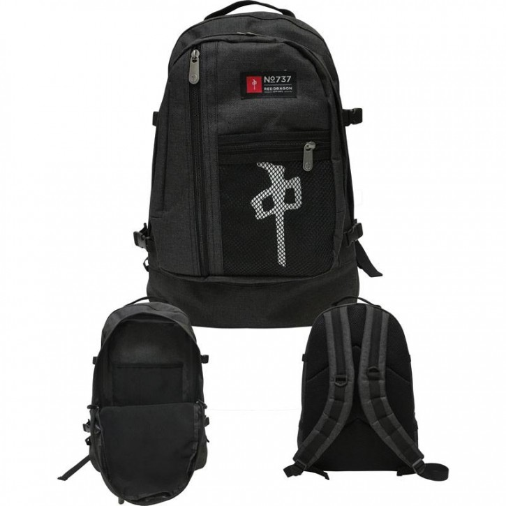 RED DRAGON - BACKPACK EXPLORER BLACK