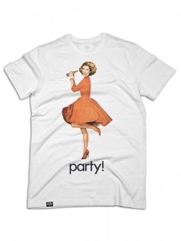 HLTN - PARTY TEE WHITE