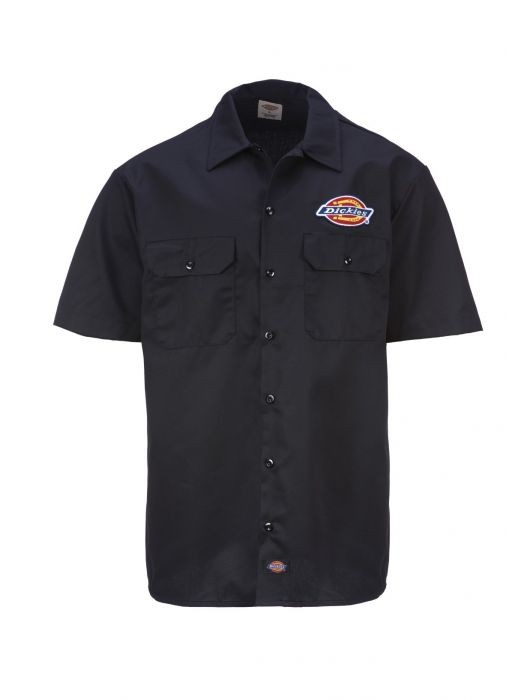 DICKIES - CLINTONDALE WORK SHIRT BLACK