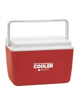 RED DRAGON - PARTY COOLER RED