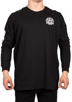 UNIT - PREY L/S TEE BLACK