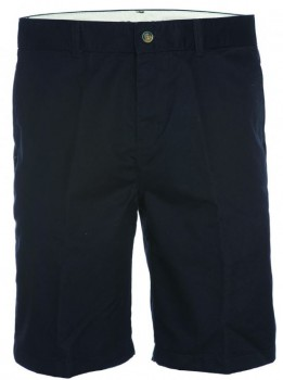 "DICKIES - KHAKI 10"" REGULAR FIT FLAT FRONT SHORT BLACK"
