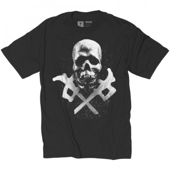 RED DRAGON - GOLGOTHA TEE BLACK