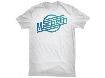 MACBETH - STROKES TEE WHITE/GRADIENT