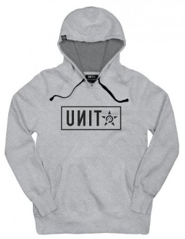 UNIT - STAND HOODY GREY MARLE M