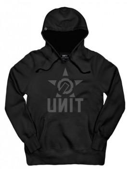 UNIT - CRANK HOODY BLACK