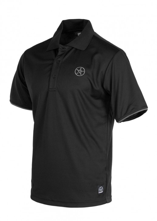 UNIT - TACTIC POLO SHIRT BLACK