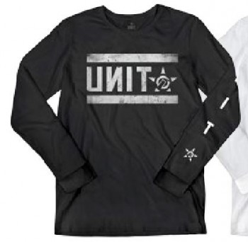 UNIT - PLATOON L/S TEE BLACK