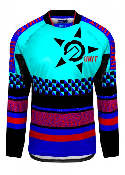 UNIT - MIRAGE MX JERSEY BLUE