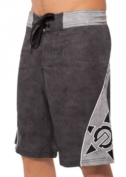 UNIT - MORTAR BOARDSHORT BLACK