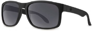FILTRATE - CONTINENTAL MATTE BLACK/GREY LENS POLARIZED ONE SIZE