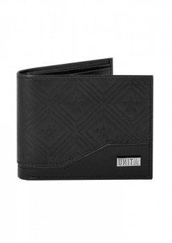 UNIT - LEGACY LEATHER WALLET BLACK ONE SIZE