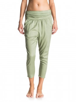 ROXY - ULTRA VIOLET BEACH PANTS GREEN