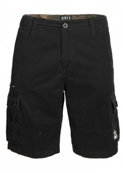 UNIT - COMMAND CARGO WALKSHORT BLACK