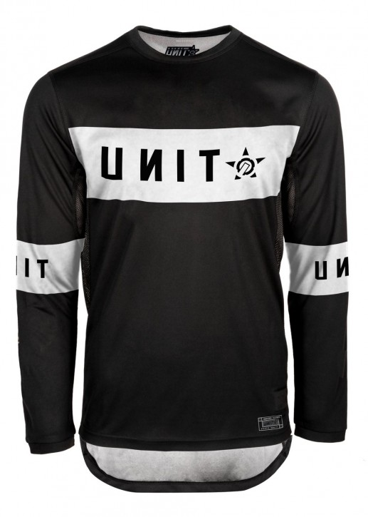 UNIT - SOUL MX JERSEY BLACK