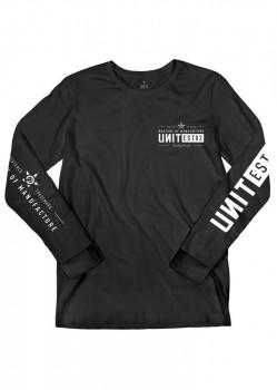 UNIT - DELEGATE L/S TEE BLACK