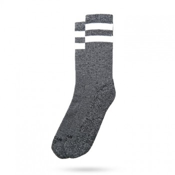 AMERICAN SOCKS - WHITE NOISE MID HIGH