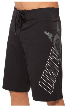 UNIT - HORIZON BOARDSHORT BLACK/GREY