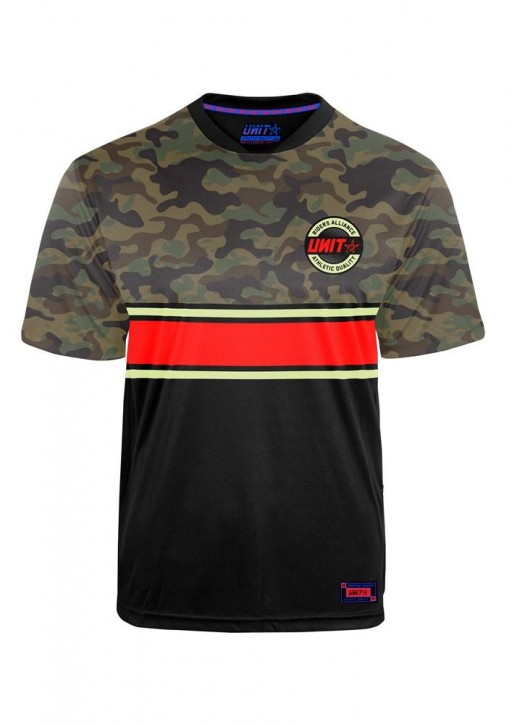 UNIT - TURNOUT MTB JERSEY CAMO