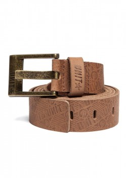 UNIT - EXCESS LETAHER BELT BROWN