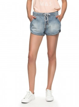 ROXY - MUSIC NEVER BEACH SHORTS JEANS