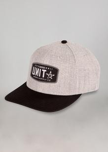 UNIT - UNION SEMI CURVE SNAPBACK GREY