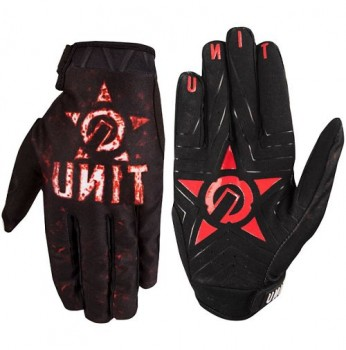 UNIT - YOUTH RIDING GLOVES HELL RAISER MULTI