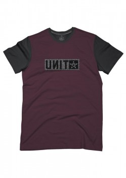 UNIT - HUNTER TEE BURGUNDY