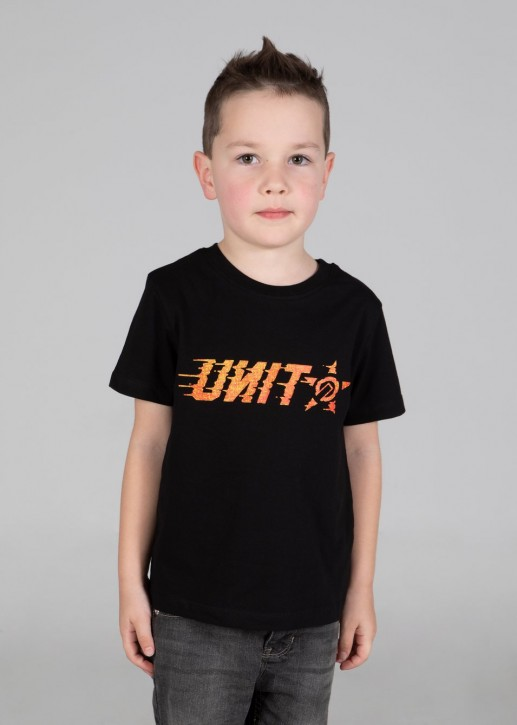UNIT - CROSSFIRE KIDS TEE BLACK
