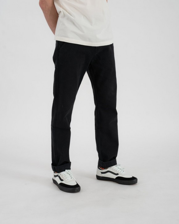 RIDING CULTURE - CHINO MEN BLACK LT