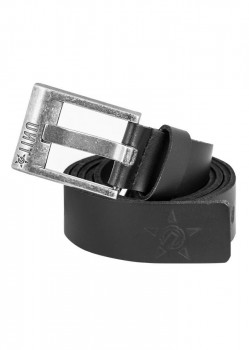 UNIT - PROSECUTOR LEATHER BELT BLACK