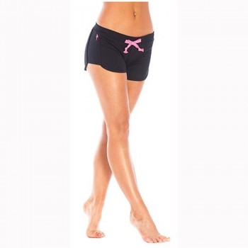 RED DRAGON - JENNA JOGERS SHORTS BLACK/PINK