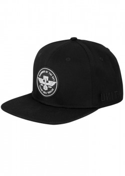 UNIT - VANGUARD SNAPBACK CAP BLACK