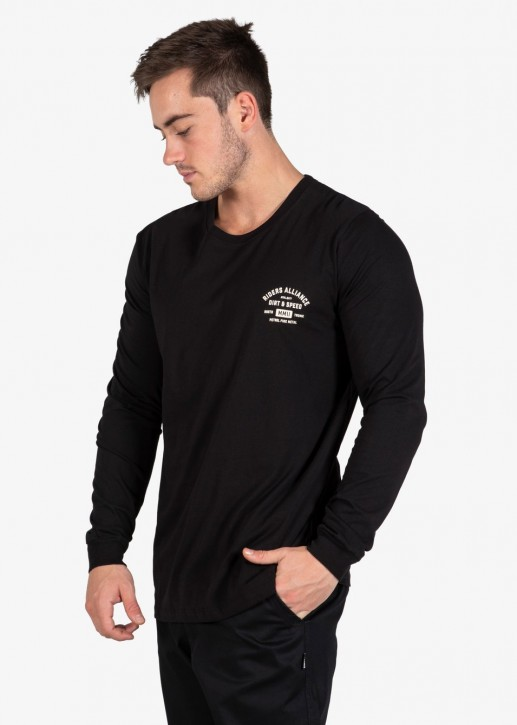 UNIT - FORTE LONGSLEEVE BLACK