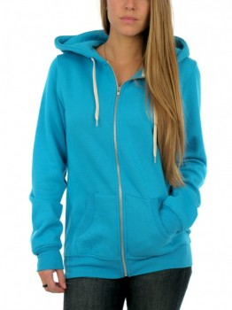 RED DRAGON - SIMPLE TRUTH ZIP HOODIE TURQUOISE