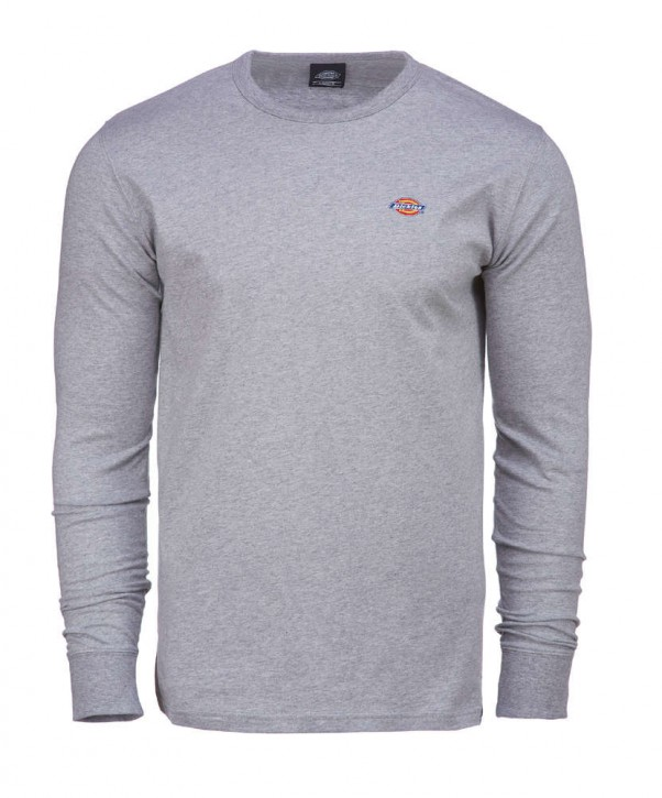 DICKIES - ROUND ROCK SLIM FIT LONG SLEEVE SHIRT GREY