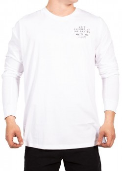UNIT - EXPOSE L/S TEE WHITE