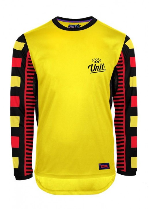 UNIT - PROTECT MTB JERSEY YELLOW