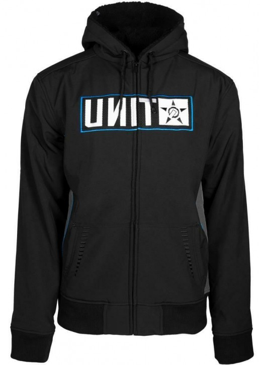 UNIT - SCUD FLEECE JACKET BLACK