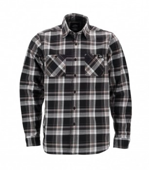 DICKIES - ATWOOD LONG SLEEVE SHIRT BLACK M